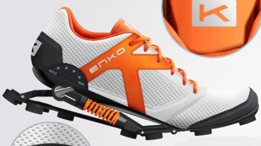 Shock-Absorbing Shoes
