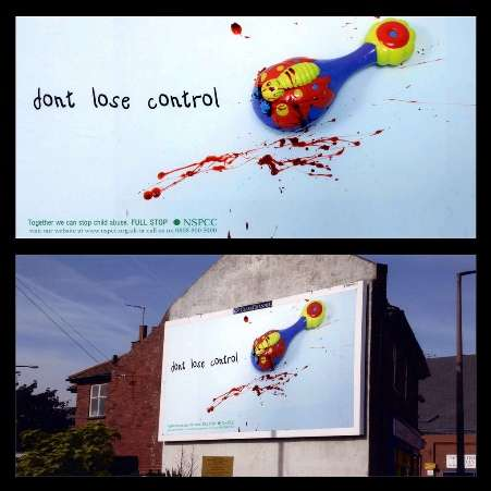 Youth Shockvertising Ii Concept Don T Lose Control
