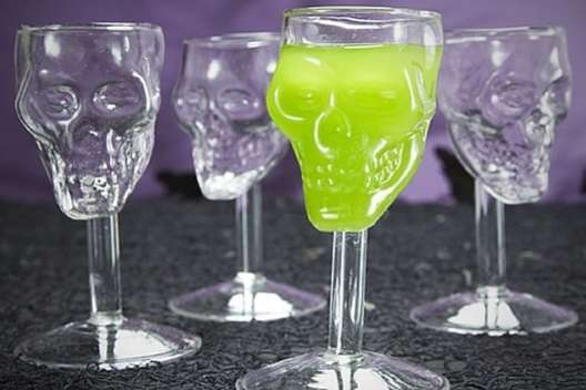 Spooky Skull Shots