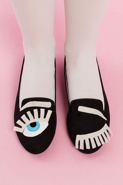 Winking Shoe DIYs