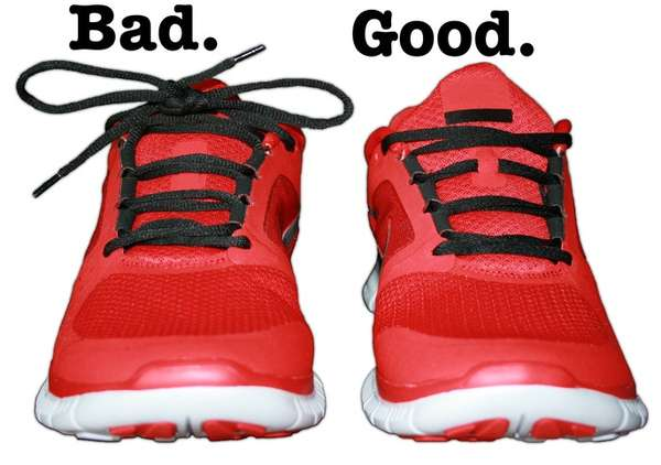 comment nouer vos lacets de chaussure pour les cacher
