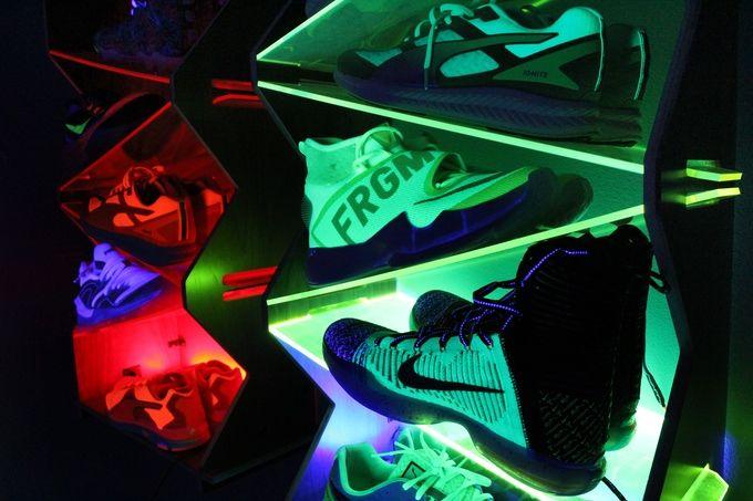 Redesigned Sneaker Displays
