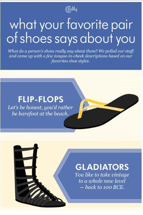 Shoe Personality Charts