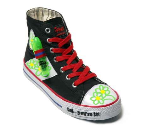 Writable Graffiti Sneaker