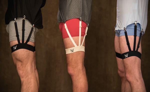 Male Shirt Garters