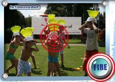 Shoot Sponges at Real Children with Online Splatgun