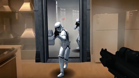 Galactic Augmented Reality Games