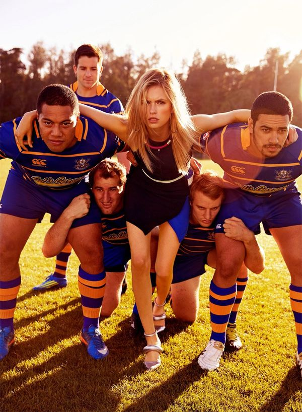 Rugby-Themed Editorials