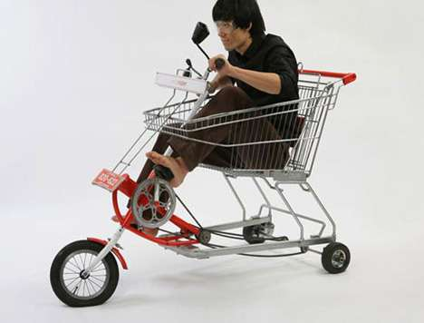 Shopping Cart Bicycles