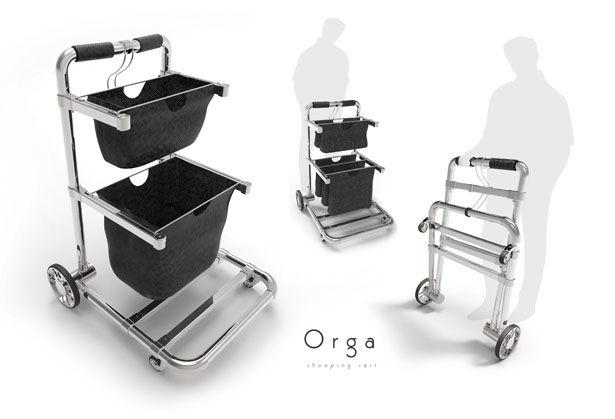 Compact Shopping Carts