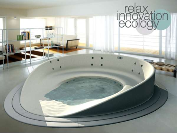 Alfa Img Showing Hot Tub Bathtubs