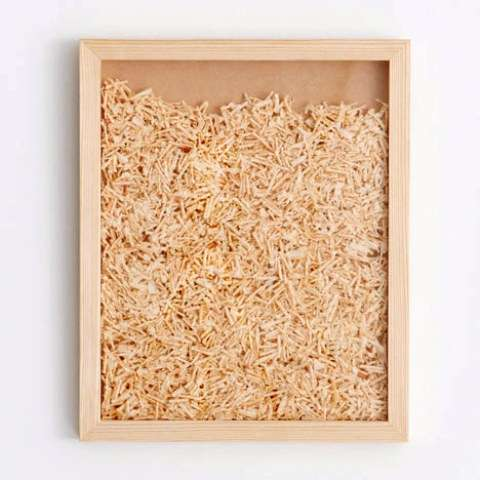 Wood Chip Display Cases