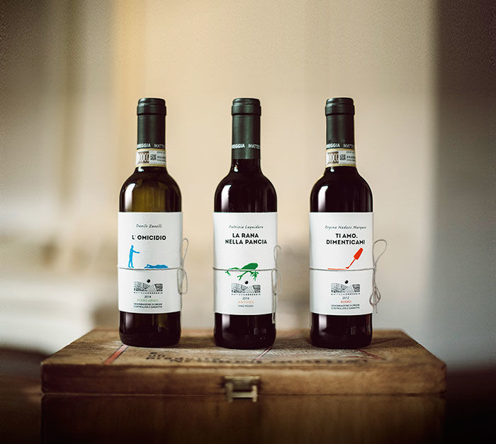 Storytelling Wine Labels
