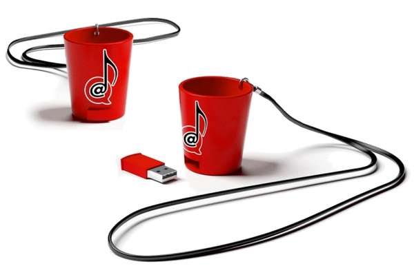 Drinkable Flash Drives