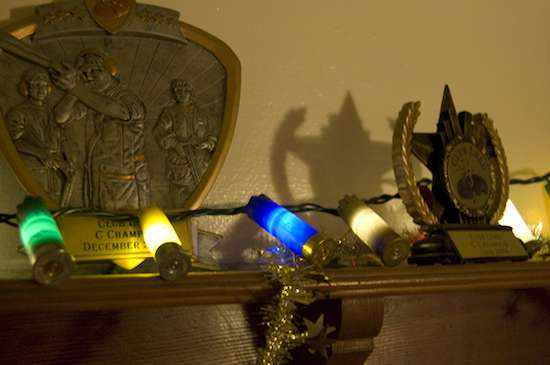 DIY Bullet Christmas Lights