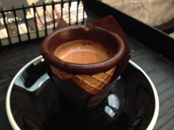 Chocolate Espresso Cones