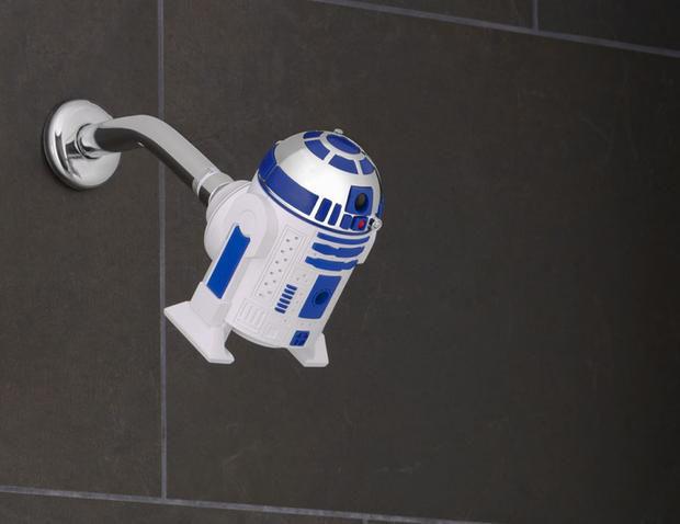 Sci-Fi Shower Heads