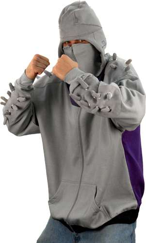 shredder hooded sweatshirt