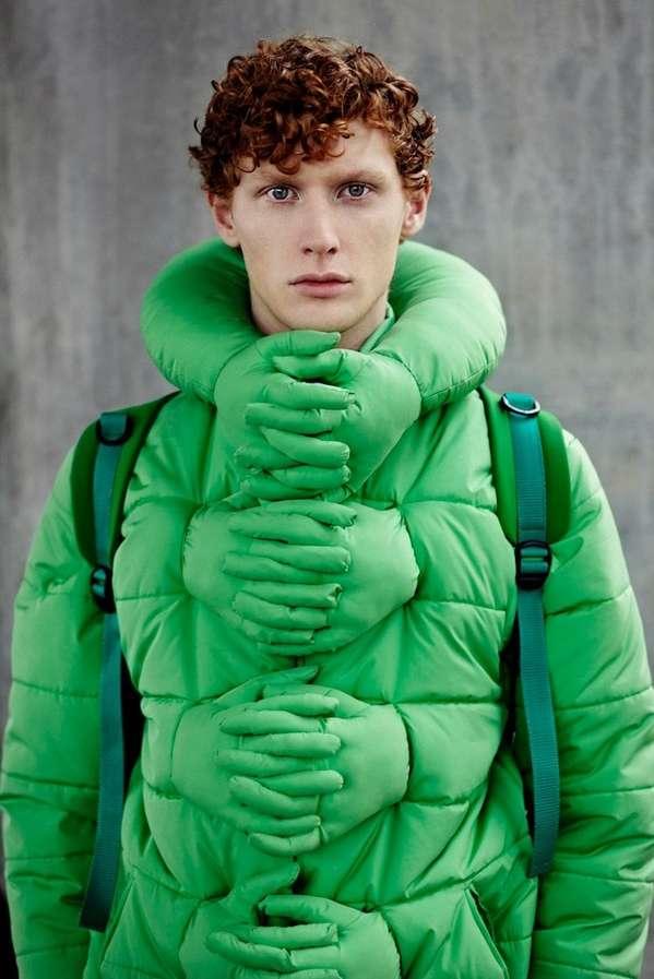Colorful Cuddling Coats