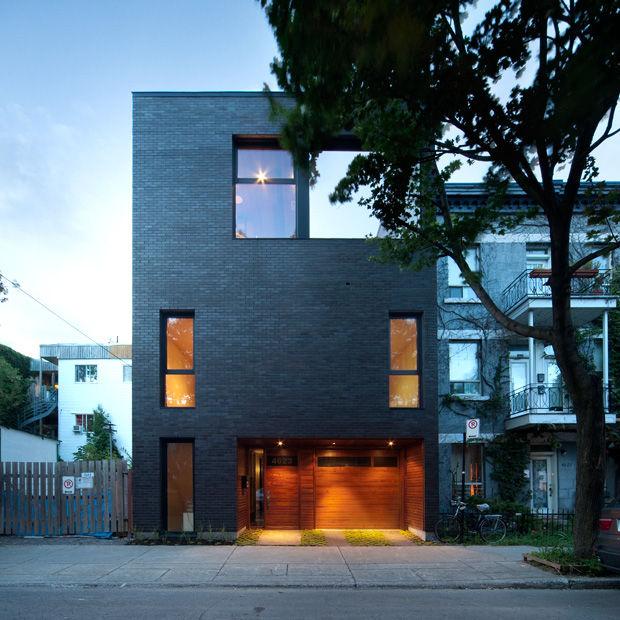 Rectilinear Minimalism Housing