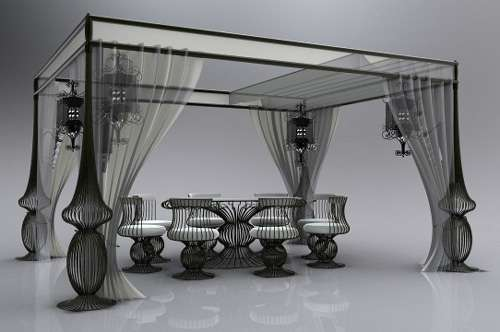Chic Chandelier Furniture