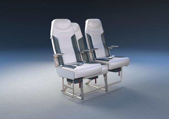 Space-Maximizing Airplane Seats