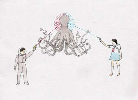 Octopus-Slaying Illustrations