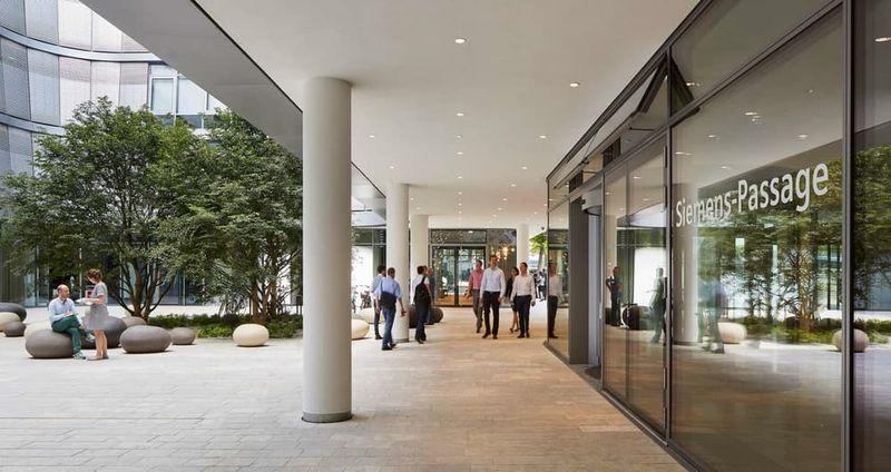 Glass-Sheathed Headquarters