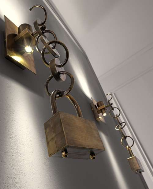 Gothic Chain Lighting