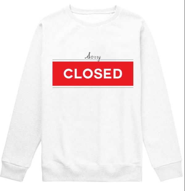 Hilarious Shop Sign Sweaters