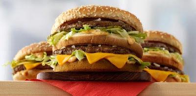 Size-Specific Burger Menus
