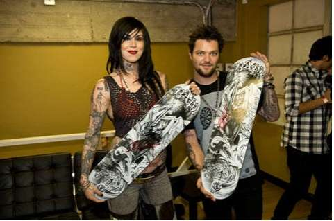 Tattoo-Inspired Skateboards