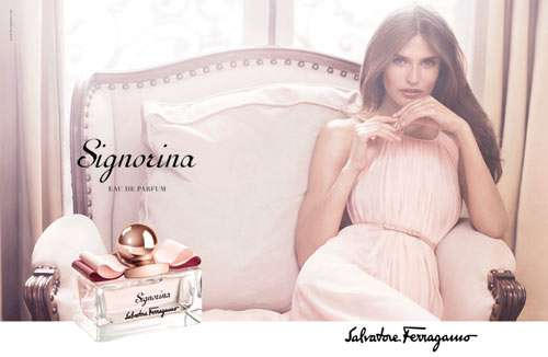 Fresh Feminine Fragrance Ads