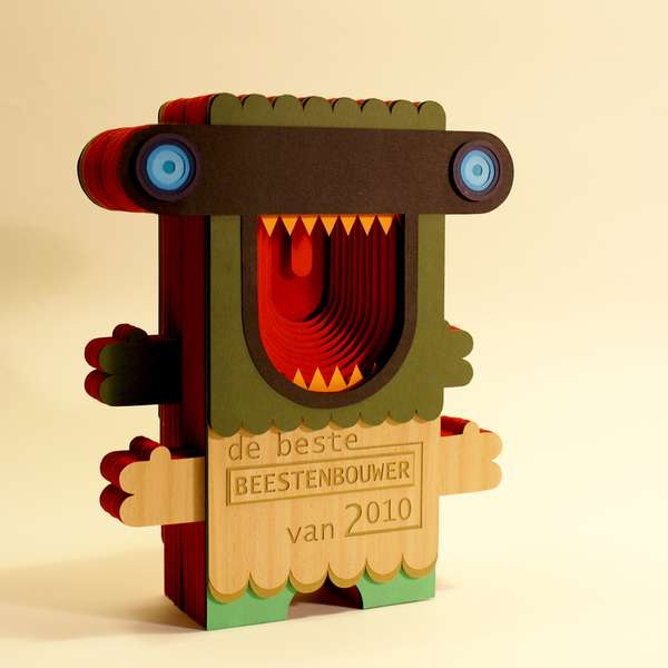 Monstrous Paper Crafts