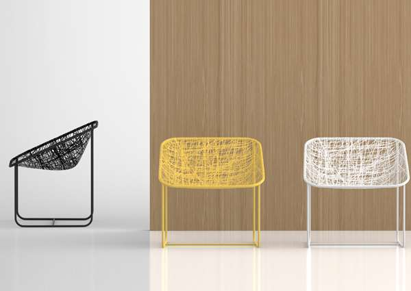 Silk Chairs by Javier Moreno