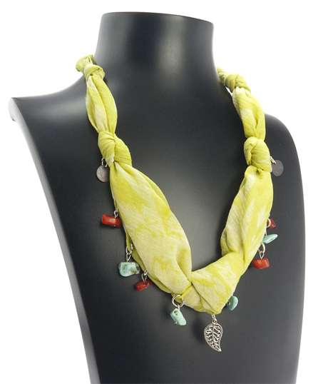 Silk Road Necklace by Orientina