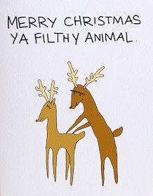 Naughty Christmas Cards
