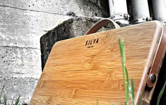 Wooden Macbook Carriers