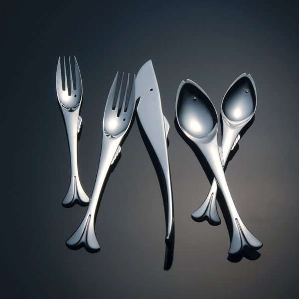 Aquatic-Shaped Cutlery