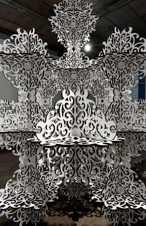 Ornate Geometric Installations