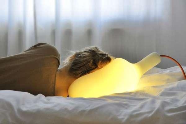 Spongy Pillow Lights