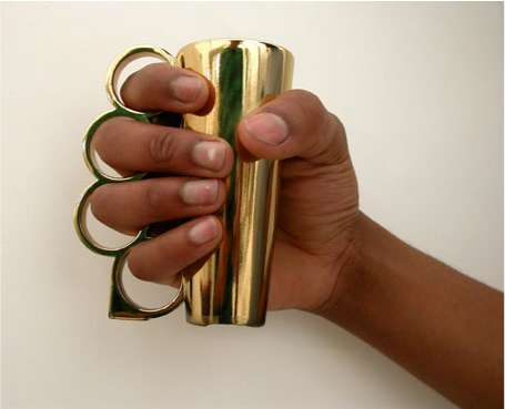 Knuckleduster Shot Glass