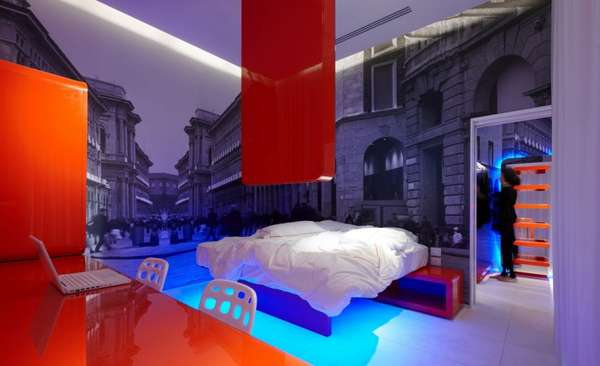 Neon Block Rooms
