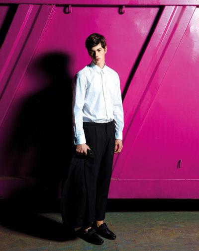 Bold Backdrop Menswear