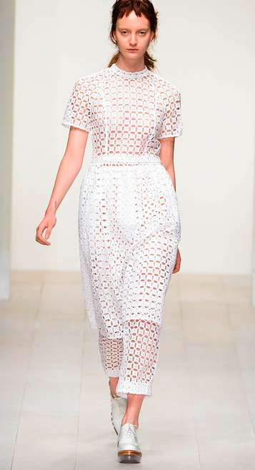 Ethereal Perforated Fashions