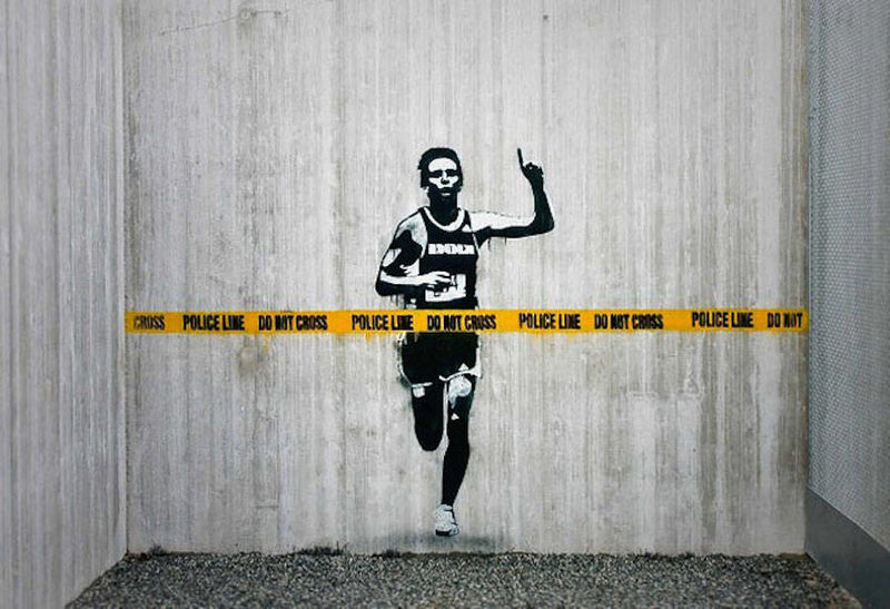 Expressive Dark Street Art