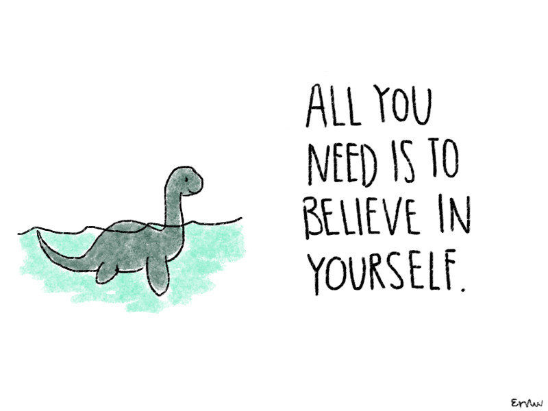 Uplifting Animal Illustrations : Simple Inspirational Quotes