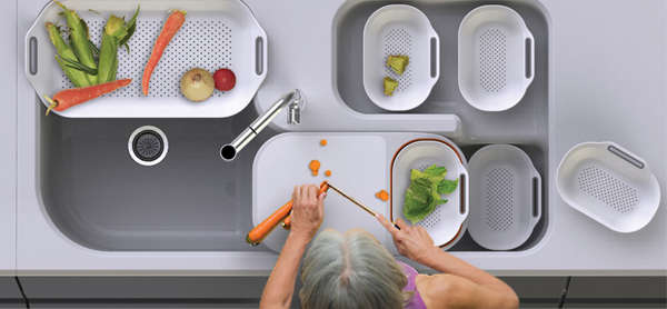 Sink-Centric Concept Kitchens