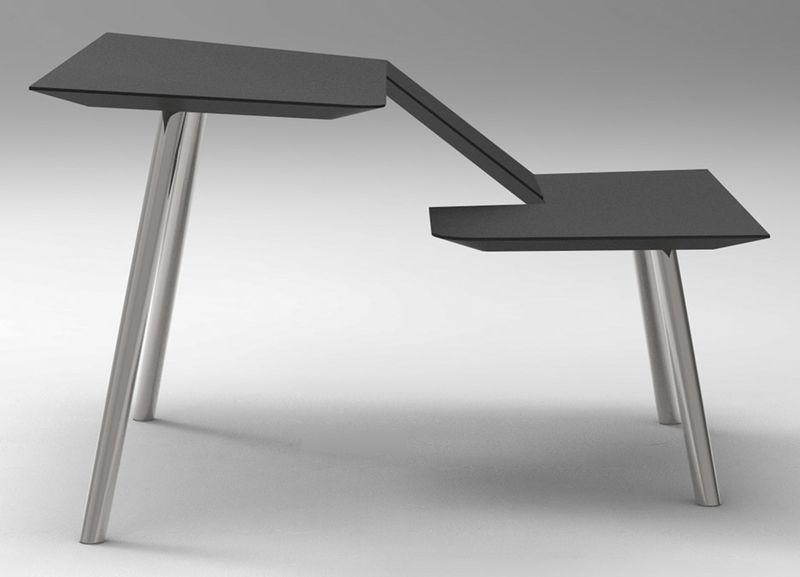 Simplistic Hybrid Office Desks