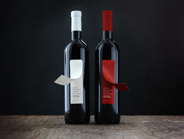Peel-Off Wine Labels